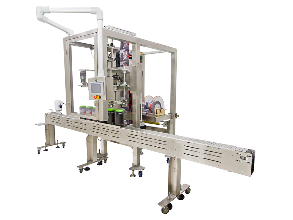 Aurora Wide Mid-Speed, Wide Format Applicators - Shrink Sleeve Label Applicators