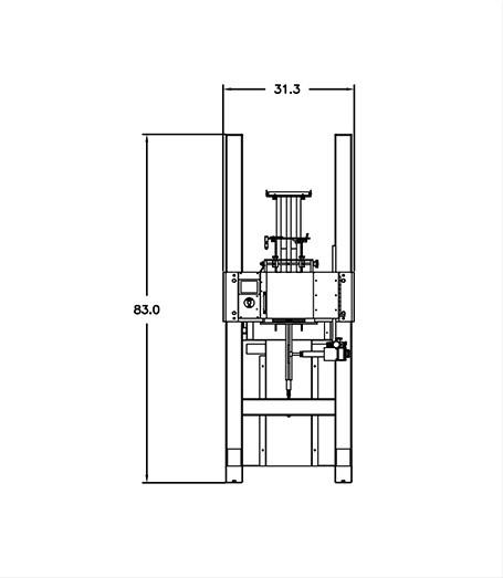 Axon EZ-150SL Footprint